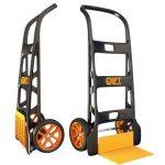 Industrijski transportni voziček v različnih funkcijah